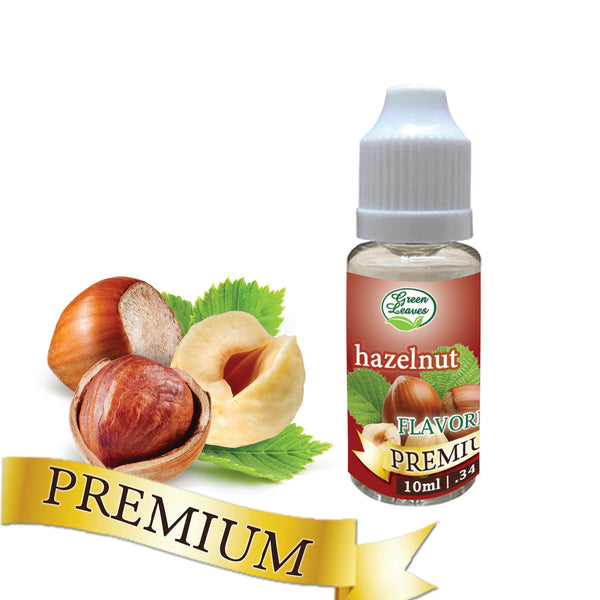 Premium Green Leaves Hazelnut Flavor