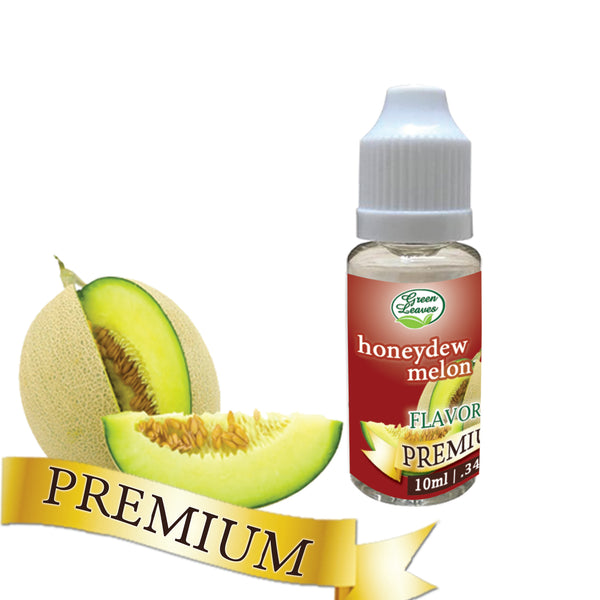 Premium Green Leaves Honeydew Melon Flavor