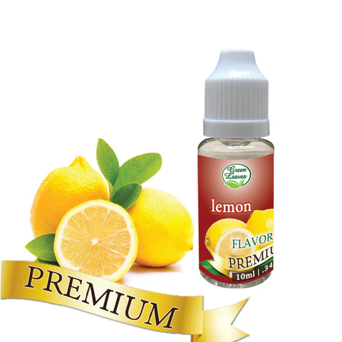 Premium Green Leaves Lemon Flavor