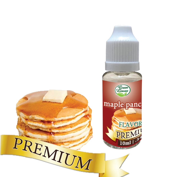 Premium Green Leaves Maple Pancake Flavor
