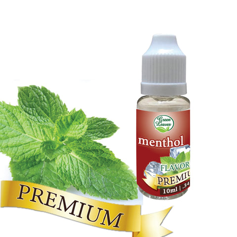 Premium Green Leaves Menthol Flavor