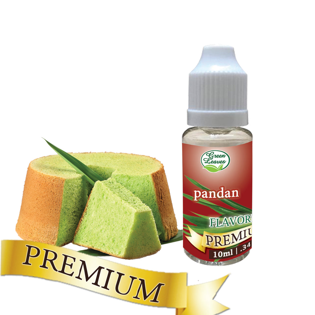 Premium Green Leaves Pandan Flavor