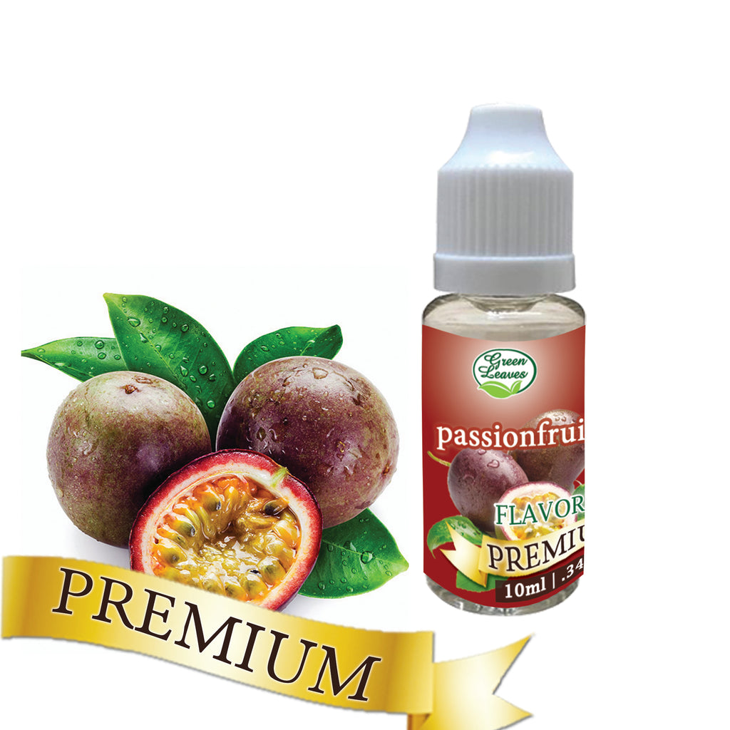 Premium Green Leaves Passionfruit Flavor