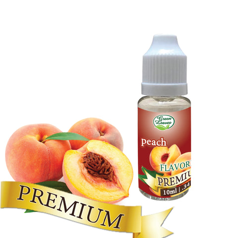 Premium Green Leaves Peach Flavor