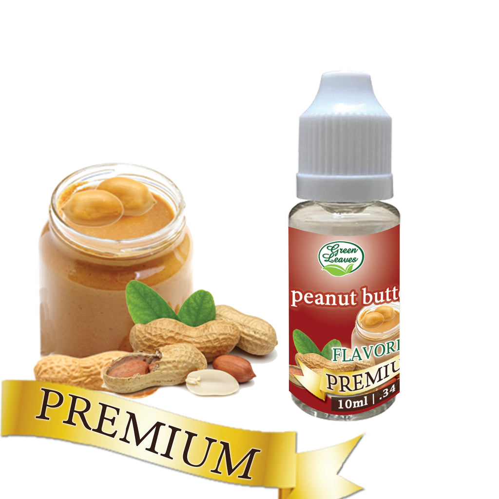 Premium Green Leaves Peanut Butter Flavor