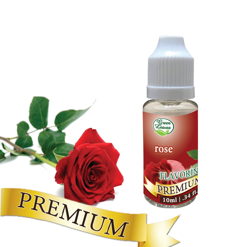 Premium Green Leaves Rose Flavor