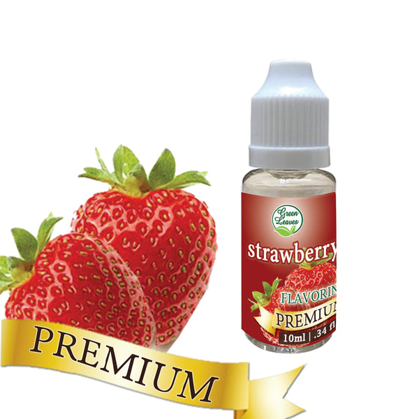 Premium Green Leaves Strawberry Flavor