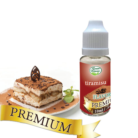 Premium Green Leaves Tiramisu Flavor
