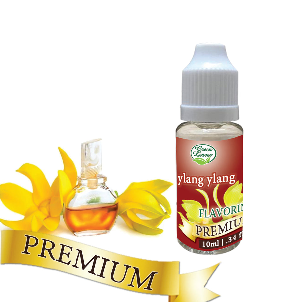 Premium Green Leaves Ylang ylang Flavor