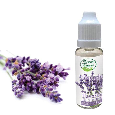 Green Leaves Concentrated Lavender Multi-purpose Flavor Essence