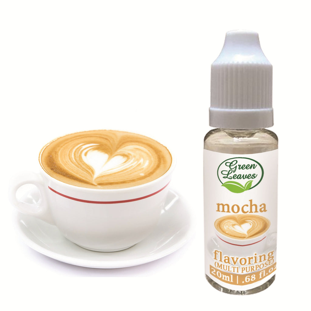 Green Leaves Concentrated Mocha Multi-purpose Flavor Essence