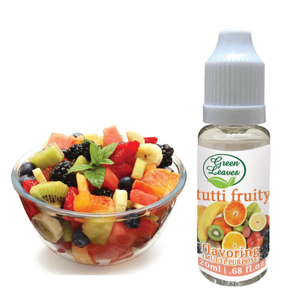 Green Leaves Concentrated Tutti Fruity Multi-purpose Flavor Essence