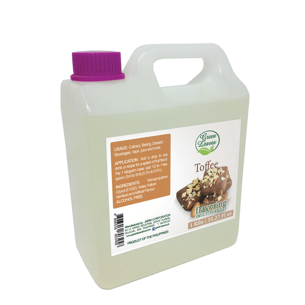 Green Leaves Concentrated Toffee Multi-purpose Flavor Essence