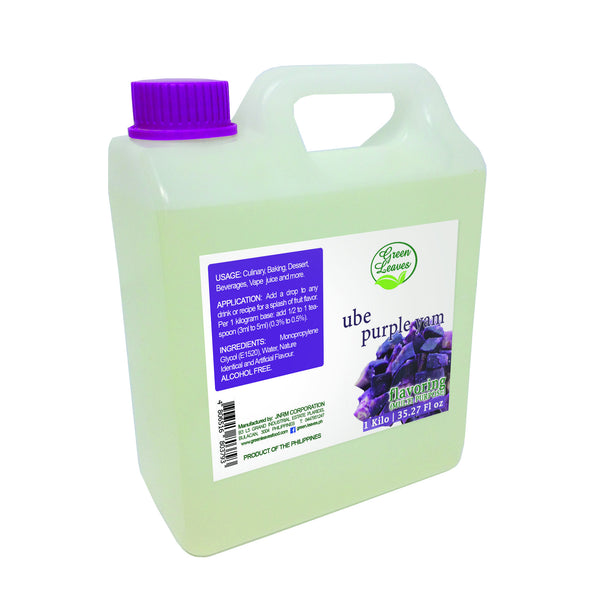 Green Leaves Concentrated Purple Yam Ube Multi-purpose Flavor Essence