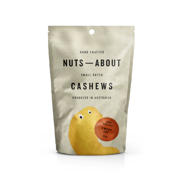 Cashews - Organic - Smoky Joe - 50G