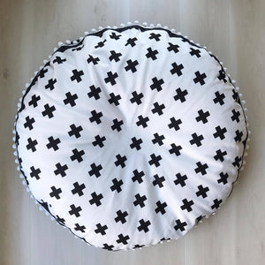 Monochrome cross BEANBAG