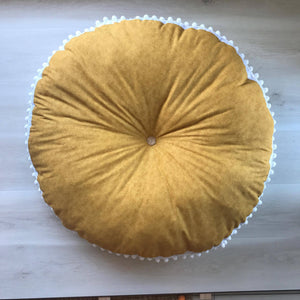 Mustard FLOOR CUSHION