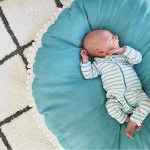 Seafoam LUXE FLOOR CUSHION