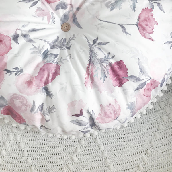 FLORAL floor cushion