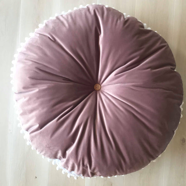 Dusty Rose LUXE FLOOR CUSHION