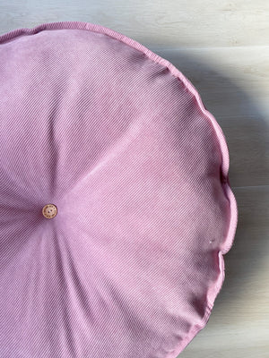 Vintage Pink CORD Floor cushion