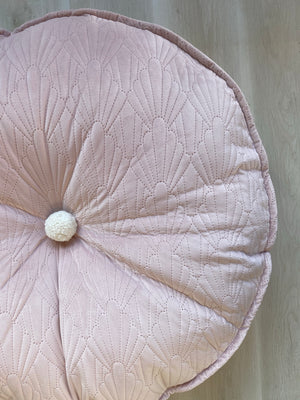 Round WISH floor cushion [PINK]