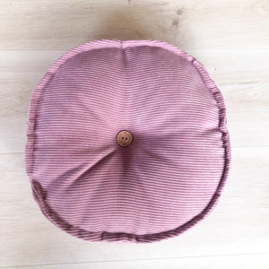 Vintage Pink CORD MINI CUSHION