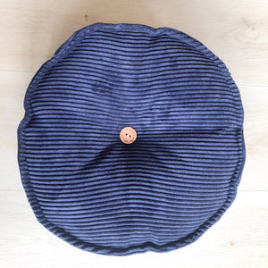Rich Navy CORD MINI CUSHION