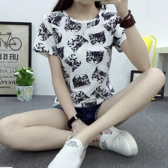 Fashion Women's Summer T-Shirt