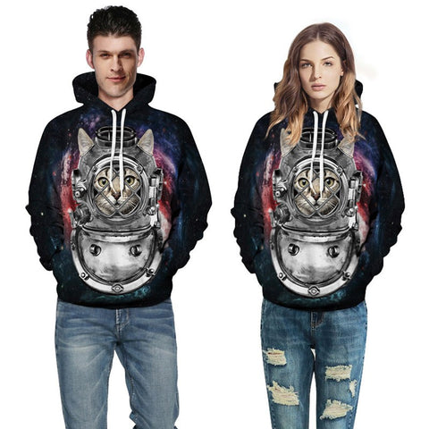 Cat 3D Hoodies