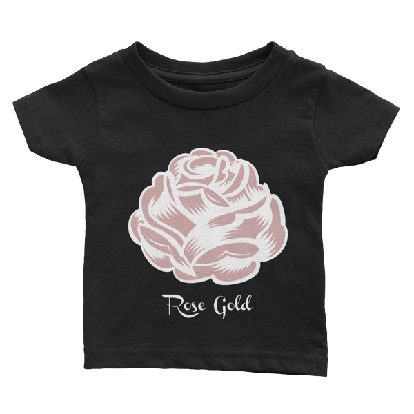 Quote Rose Gold Infant Tee