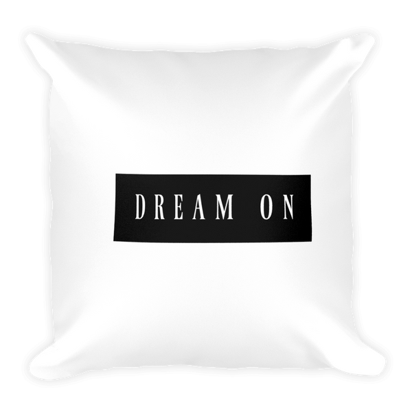 Quote Dream On Pillow - Gabi & Maria Pretty-Print Boutique