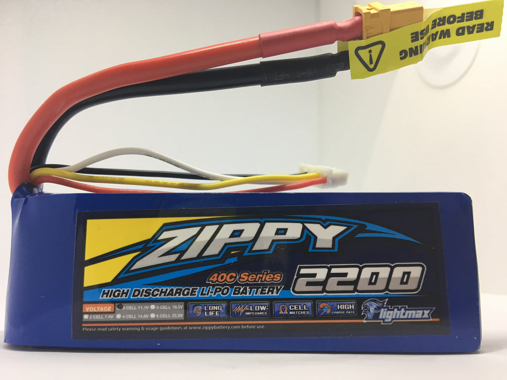 3S 2200mah Zippy LiPo Battery
