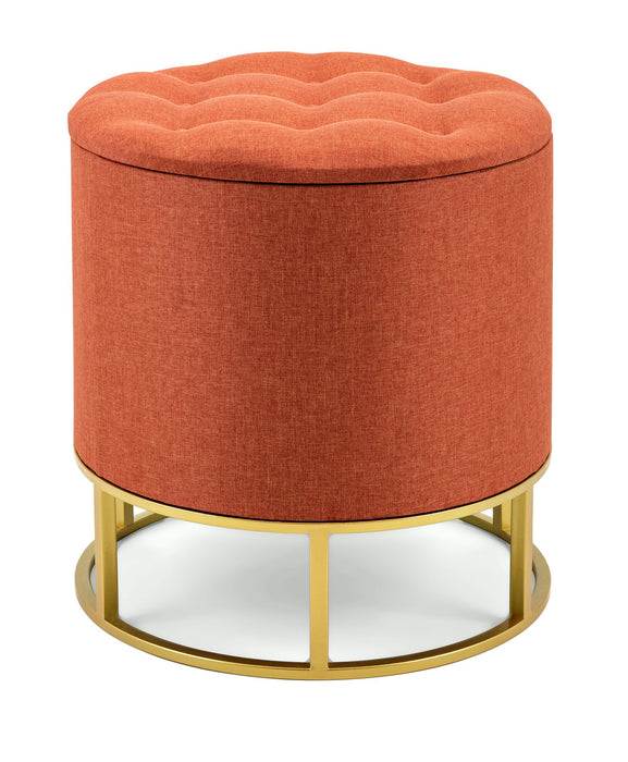 Rylee-Orange-Ottoman