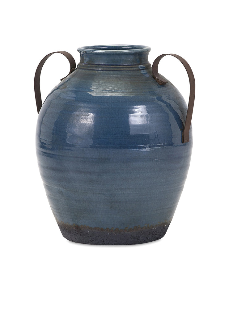 Harrisburg-Small-Vase-with-Metal-Handles