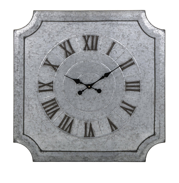 Crestin-Galvanized-Wall-Clock