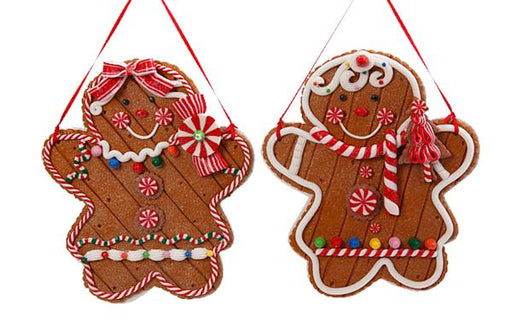 "9"" Gingerbread Family"