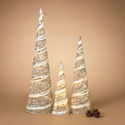 Lighted Holiday Cones