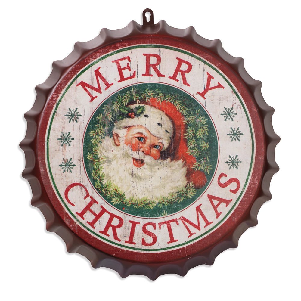 "16.5"" Merry Christmas Bottle Cap"