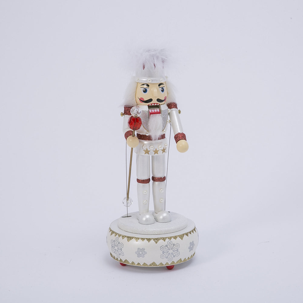 "12.25""  Wind-Up Wd Nutcracker"