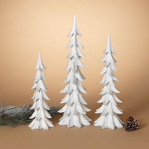 White Holiday Trees