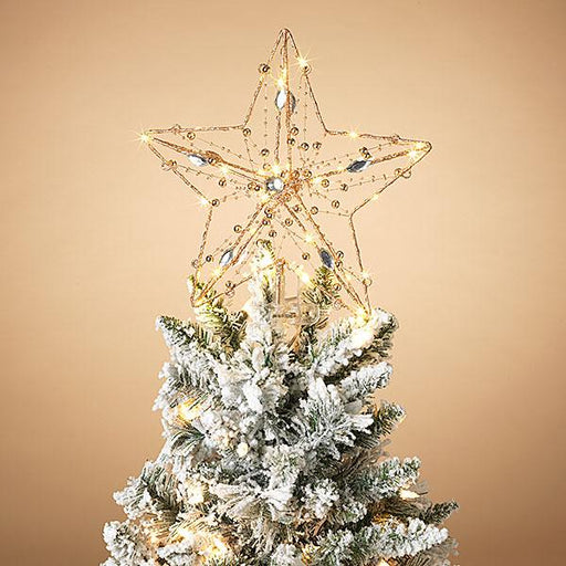 "13"" Lighted Tree Topper"