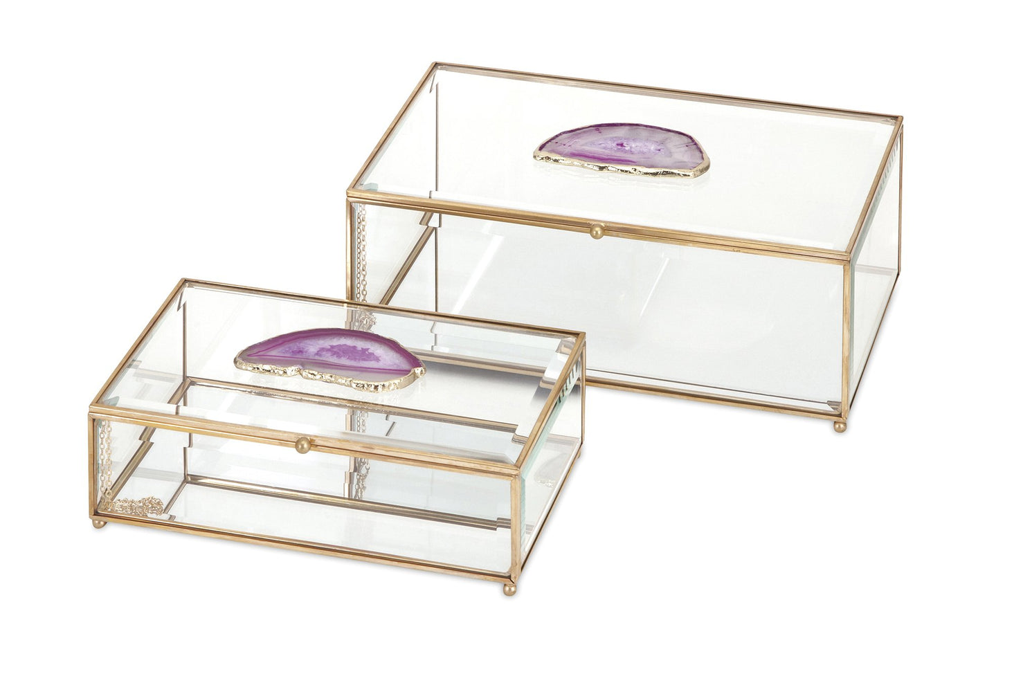 Maison-Glass-and-Agate-Boxes