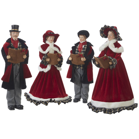 CAROLERS-Set-of-4