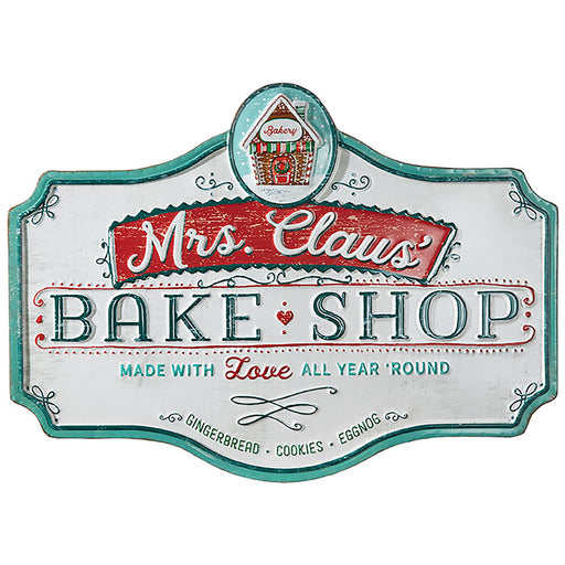 Mrs. Clause Bake Shop Sign