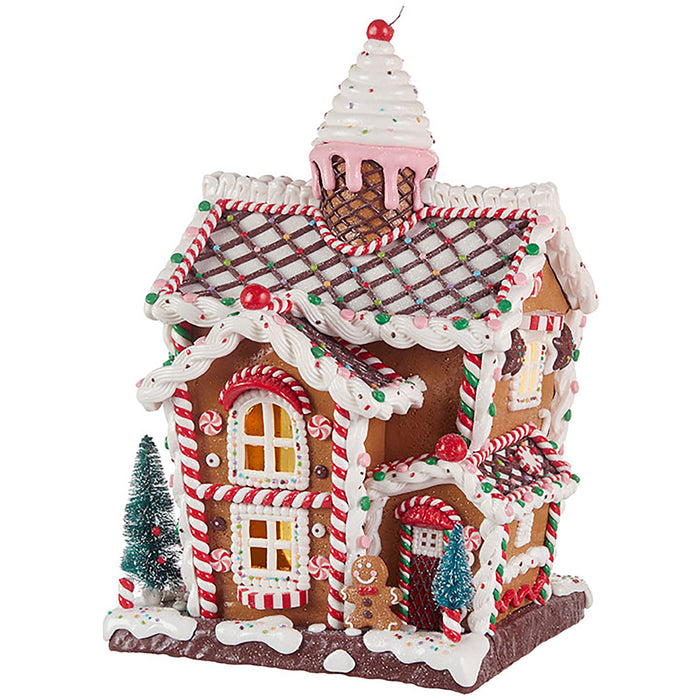 Ice Cream Gingervread House