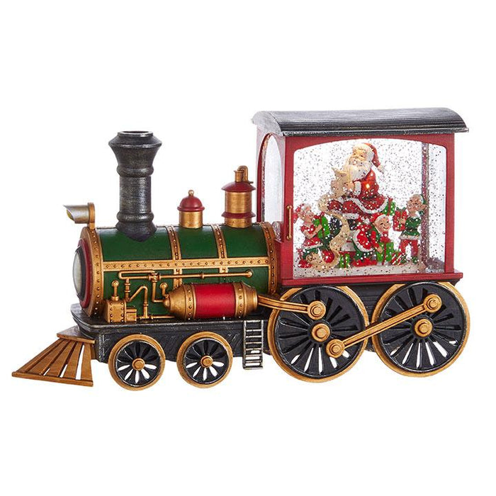"12.25"" Santa's List Musical Train"