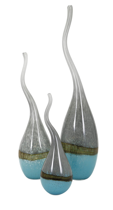 Squiggle-Glass-Vases