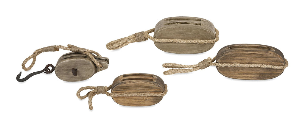 Nautical-Wooden-Pulleys