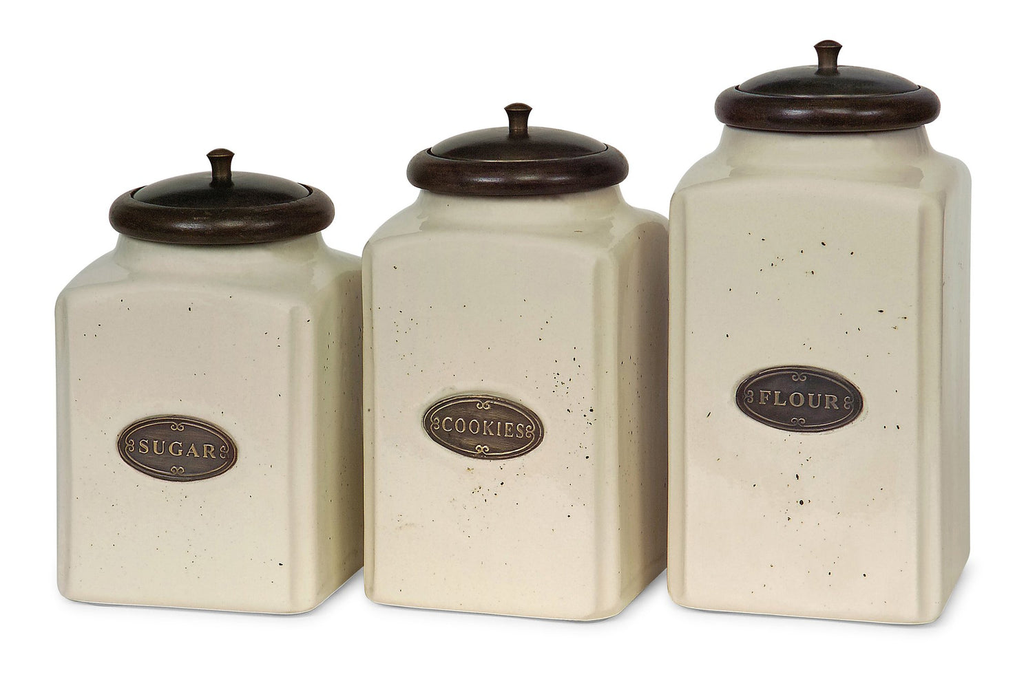 Ivory-Canisters